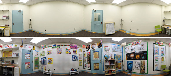 Anaokulu Sınıfları Rengarenk Olmak Zorunda Mı?